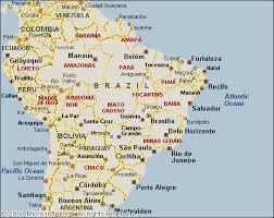 map of cities in south america belo horizonte map and belo horizonte satellite image