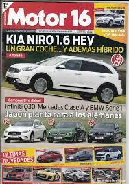 revista motor 2016 revista motor 16 nº 1686 año 2016 prueba kia comprar revistas