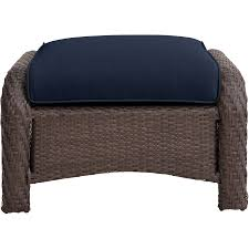 Newport Patio Furniture by Newport 6 Piece Seating Set In Navy Blue Newport6pc Nvy