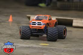rc monster truck racing orange dodge u2013 pro modified trigger king rc u2013 radio controlled