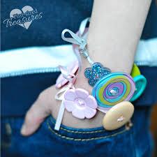 bracelet craft hand images Easy button bracelets craft pint sized treasures png