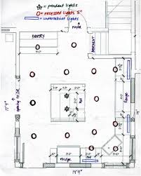 Where To Place Recessed Lights In Kitchen Recessed Lighting Layout Diagram Lighting Info Pinterest