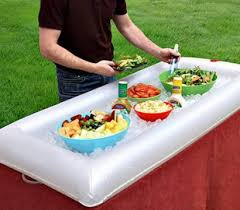 table top cooler for food inflatable salad bar buffet table ideal for parties easy to use
