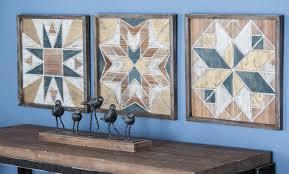 cole grey 3 wood wall decor set reviews wayfair