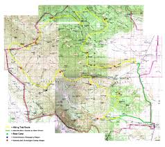 philmont scout ranch map trek 11 route map