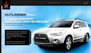 mitsubishi india outlander discontinued in india