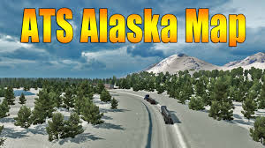 Alaska Map In Usa by Ats Usa Offroad And Alaska Map Youtube