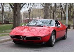 pink maserati 1973 maserati bora for sale classiccars com cc 1040700