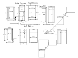 Standard Width Of Kitchen Cabinets Beautiful Kitchen Corner Cabinets Dimensions Astounding Graphic