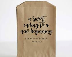 wedding treat bags treat bags vintageleecrafted