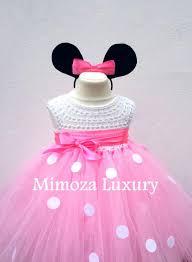 minnie mouse dress minnie mouse birthday dress flower dress