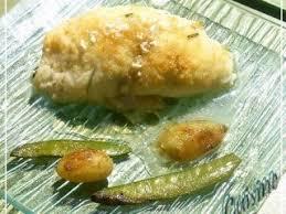 comment cuisiner du carrelet filets de carrelet farcis au fromage blanc recette ptitchef