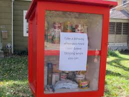 Or Books A New Type A New Type Of Food Pantry Is Sprouting In Yards Across America