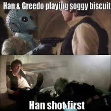 Han Shot First Meme - han shot first funny pics funny pictures lol lolcat lmao fail
