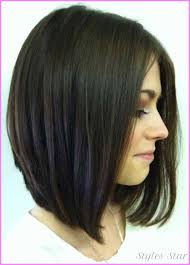 long inverted bob hairstyle with bangs photos long inverted bob haircut side view stylesstar com