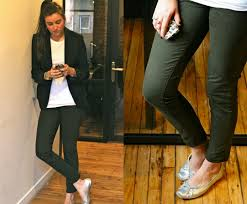get the look olivia palermo u0027s olive pants u2013 eat sleep denim blog