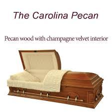 pictures of caskets the carolina pecan casket carolina quality caskets