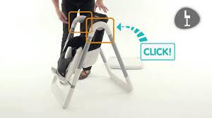 bebe confort chaise haute chaise haute kaleo de bebe confort installation