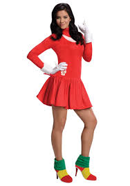 knuckles dress costume costume crazy pinterest