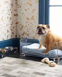 Jonathan Adler Lucite  Brass Dog Bed - Jonathan adler bedroom