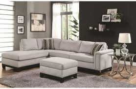 Reversible Sectional Sofas by Lenny Chocolate Linen Sectional Sofa