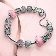 pandora silver clip bracelet images Pandora clips safety chains