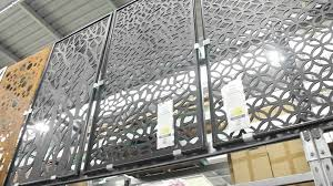 Folding Gazebo Bunnings by Knockout Garden Screen Panels Bunnings Wood Panel Decor Screen