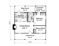 House Plans Under 2000 Square Feet Bonus Room First Floor Plan Of Country Narrow Lot House Plan 59163 House