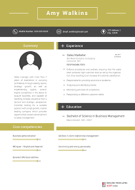 Sample Marketing Resumes by Marketing Resume Template Can Help You To Be Hired To The Best