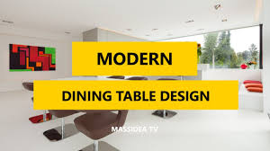 Dining Tables Modern Design 45 Cool Modern Dining Table Design Ideas 2017