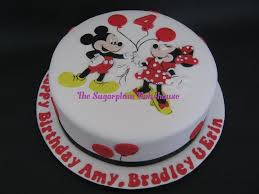 birthday cakes mickey and minnie mouse image inspiration of cake