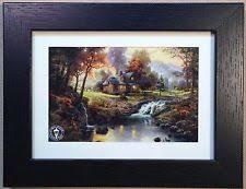 home interiors kinkade prints kinkade framed prints ebay