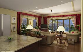 living room fresh kitchen and living room design ideas home