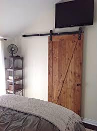 z barn door rustic bedroom salt lake city by rustica hardware
