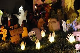 Outdoor Halloween Decoration Ideas Outdoor Halloween Decorating Ideas Diy Pictures Of Outdoor