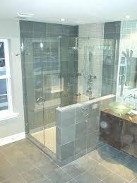 Leaking Shower Door Frameless Shower Glass Doors Custom Cost Leaking Door Pics