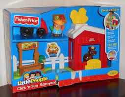 Fisher Price Little People Barn Set Fisher Price Little People Click U0027n Fun Barnyard Playset R6929 Fp