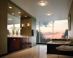 bathroom natural concept bathroom modern ceiling light curtain