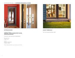 Exterior Door Options by Go Home By Go Logic Options