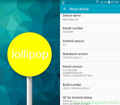 android software versions samsung galaxy s5 android 5 0 lollipop update g900fxxu1bnl2