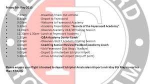 holland coaches tour 7 th u0026 8 th may insight into academy coaching