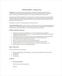 Examples Of Academic Achievements Resume by 7 Resume Writing Examples Samples