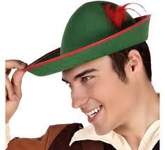como hacer un sombrero de robin hood en fieltro sombrero de robin hood verde