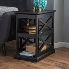 leick 10030med favorite finds shaker cabinet end classic traditional end tables and side tables hayneedle