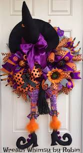 Halloween Mesh Wreaths by 1084 Best Halloween Crafts Images On Pinterest Halloween Ideas