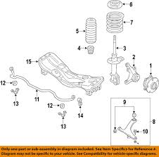 subaru wrx engine diagram subaru oem 2015 wrx sti front lower control arm 20202va000 ebay