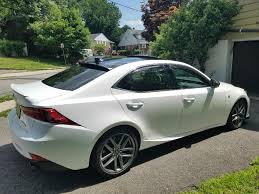 white lexus is300 ultra white u002716 is300 f sport build journal clublexus lexus
