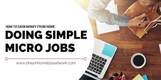 Design Jobs Online Home How To Earn Money From Home Doing Micro Jobs Online
