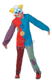 Kids Scary Clown Halloween Costumes Scary Clowns Boys Fancy Dress Halloween Horror Joker Circus Kids