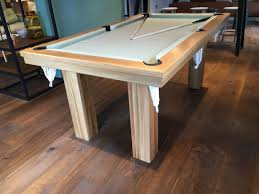 Pool Dining Table by Pool Dining Table In Oak Sage Snooker U0026 Pool Tables